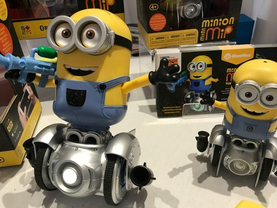 "Toy maker WowWee is releasing a robotic Minion toy in time for the ""Despicable Me 3"" release."