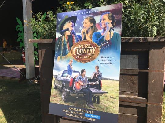 """Poster for """"Pure Country Pure Heart"""" at Stagecoach"""