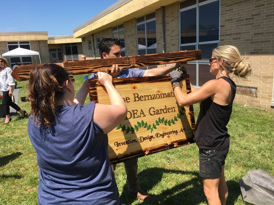 HGTV home rehabber Nicole Curtis helps staff with Bernzomatic,