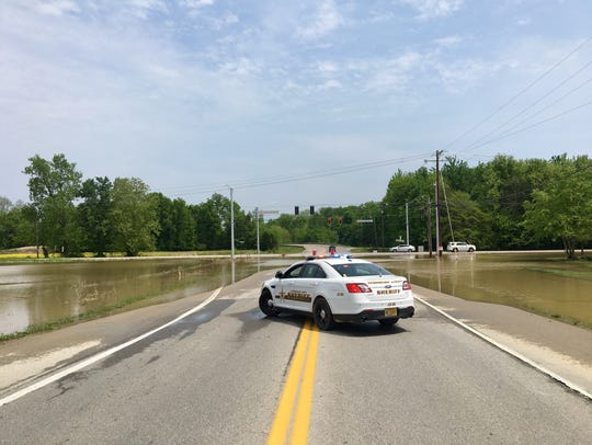 Boonville-New Harmony Road and Green River Road