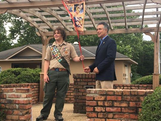 Prattville High School student, Holden McGwin earned