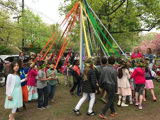 Maypole dance Montclair