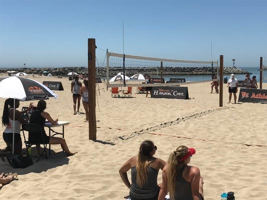 Ventura College beach volleyball