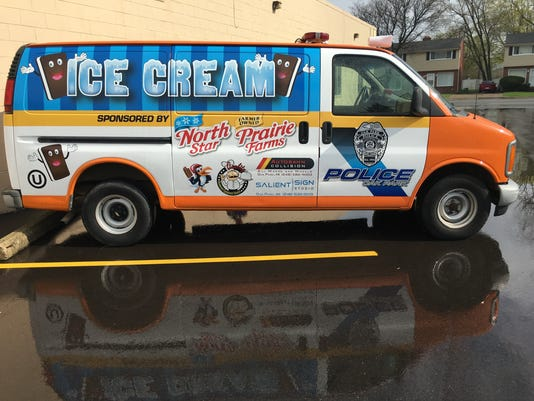Oak Park ice cream truck