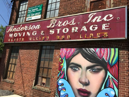 Renovations are planned for the old Anderson Moving  & Storage building in Red Bank.