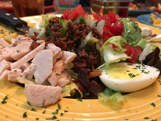 The Cobb salad from Mel's Diner in Fort Myers.