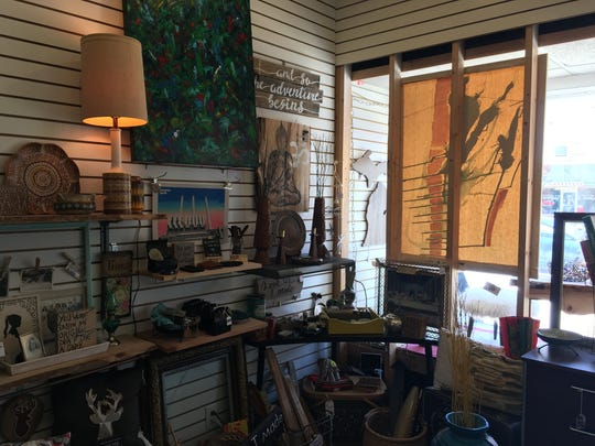Located in REO Town, Vintage Junkies specializes in upcycled merchandise.