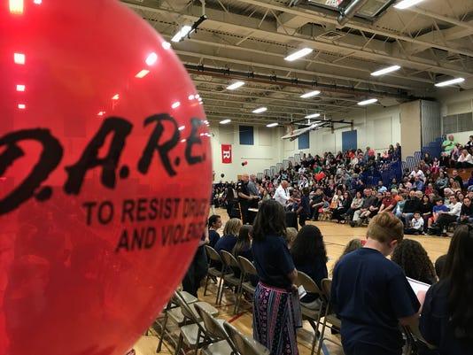 Ringwood D.A.R.E. graduation 2017 balloon