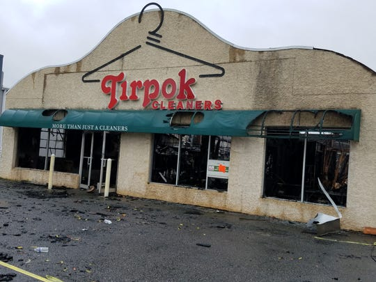 The community is rallying to support Tirpok Cleaners after the longtime Flemington store was destroyed by fire Thursday evening.