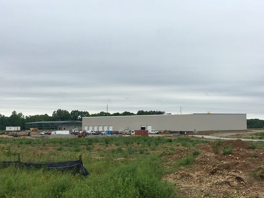 New Central Distributors facility currently under construction.
