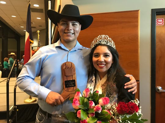 Buc Days King 2017 Matthew Rodriguez and Miss Buc Days 2017 Meagan Harrington pose on Saturday, May 6, 2017.