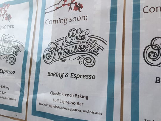 A new French bakery is set to open at 26 New Street called Rue Nouvelle. It will feature French bakery goods and espresso.
