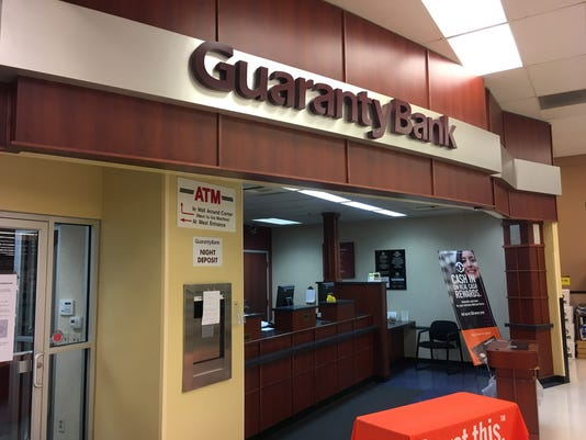Guaranty bank branches closed