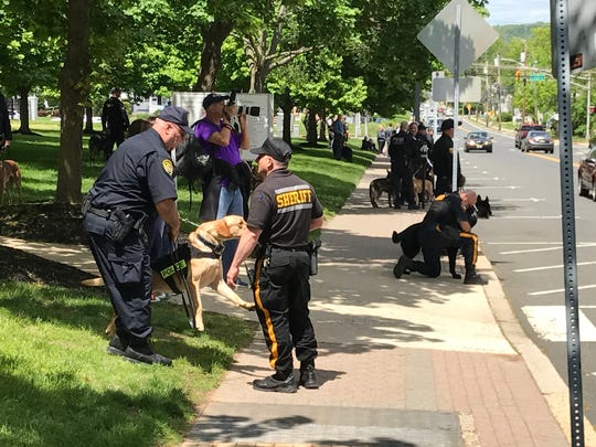 The Police Unity Tour traveled through Somerville on Tuesday.