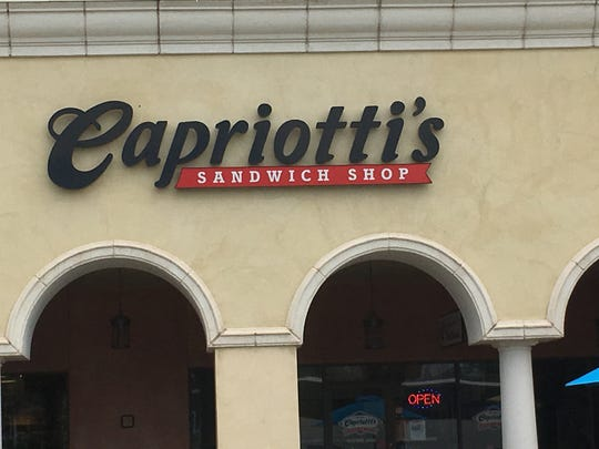 Capriotti's is located at 250 Red Cliff Drive, St.