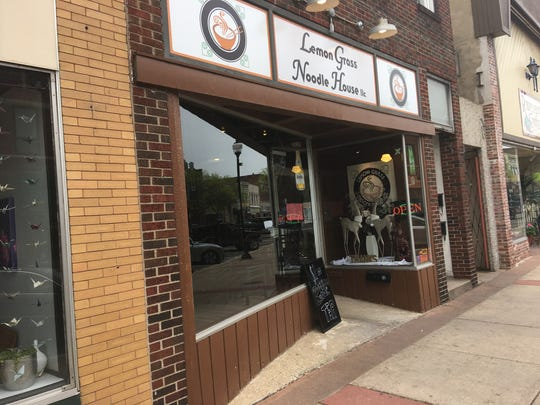 Lemon Grass Noodle House in downtown Stevens Point closed May 14, 2017. A vegetarian restaurant, Wicked Willow, will open in the space in August or September.