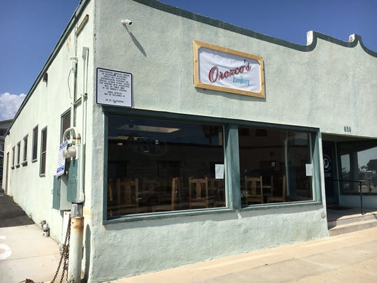 Orozco's de Ventura is now in soft-opening mode on Front Street, near the foot bridge to the Ventura Pier.