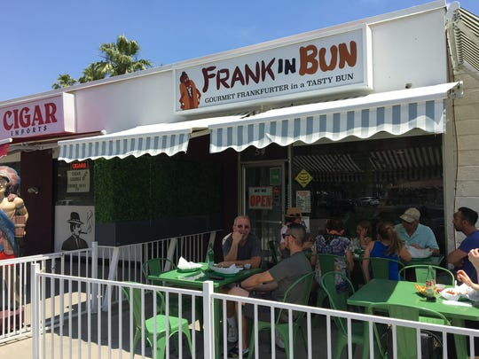 """Frankinbun in Palm Springs will be featured on an upcoming episode of Food Network's """"Diners, Drive-Ins and Dives"""" hosted by Guy Fieri."""