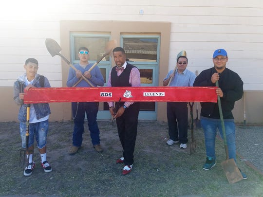 This picture was taken before Academy Del Sol broke ground on their Legends Garden.