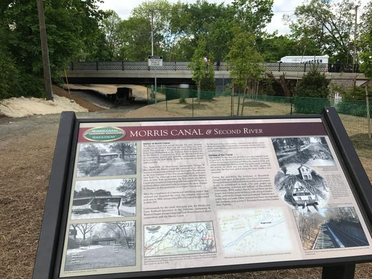 Along with the new Berkeley Avenue Bridge, Essex County and Bloomfield are adding interpretive signs along the Old Morris Canal.