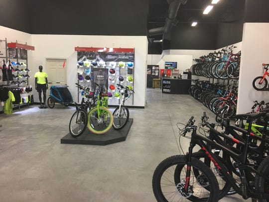 A Trek bicycle store recently opened at 5370 U.S. 10