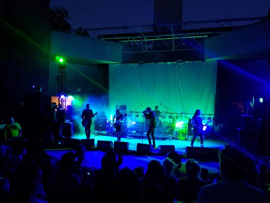 Deafheaven perfoms at FORM Arcosanti on Saturday, May