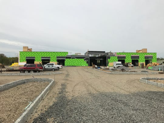 LA Fitness is under construction at Greenleaf of Howell.