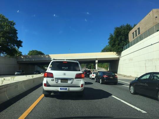 Crash on southbound I-95 causing delays through Wilmington.