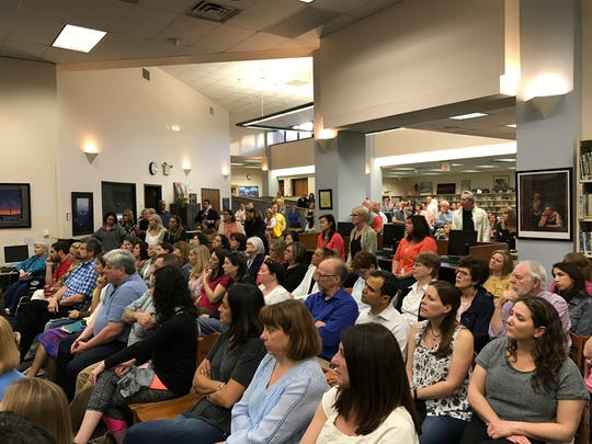 Hundreds of parents attended a community forum on drug use, addiction and other risky behaviors.
