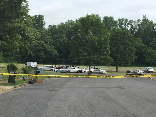 Memphis police investigate after a man was found shot