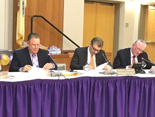 Garfield Board of Education meeting