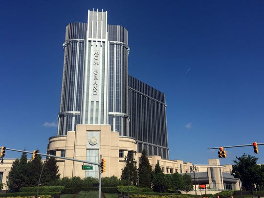 The MGM Grand Hotel in downtown Detroit where rock