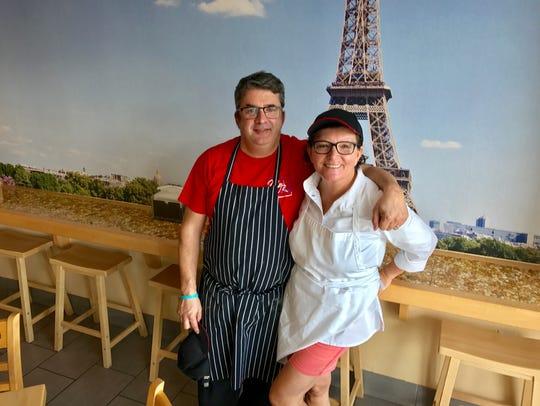 Yveline Mauclerc and her husband, Eric Perez, opened