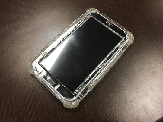 Electronic tablets like this one are now being offered to inmates at Middle River Regional Jail in Verona.