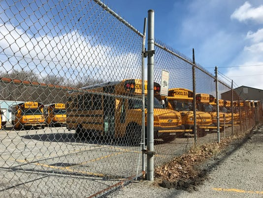 West Milford bus depot