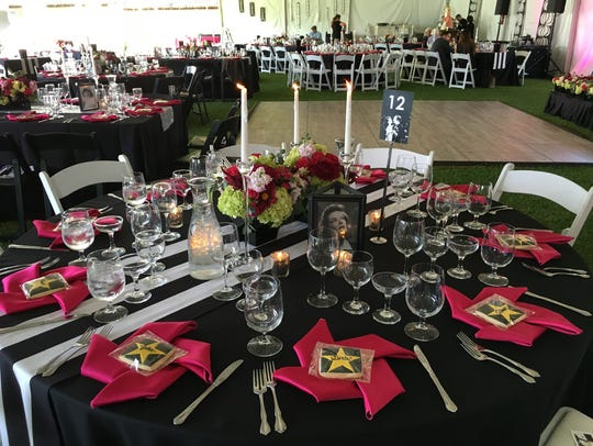 The Yummie Top Chef dinner in 2016 featured an Old Hollywood theme, with decor and place settings to match. The seven-course meal prepared by a team of Ventura County chefs will return on May 31.
