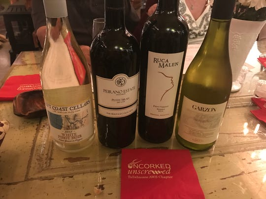 Members of the Tallahassee American Wine Society Chapter—Uncorked & Unscrewed—held an event at 319 Wine & Cheese.