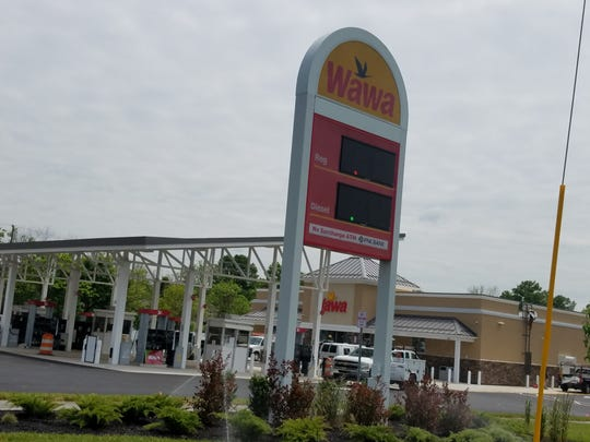 A Wawa is under construction at 950 Joyce Kilmer Ave. and 933 Livingston Avenue in North Brunswick.