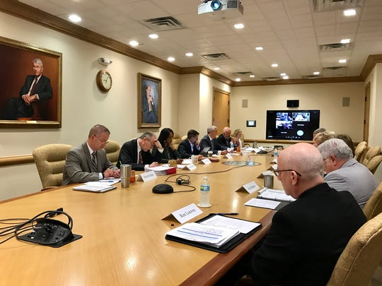 The University of Tennessee board of trustees subcommittee