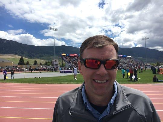 Mark Koefelda, the former athlete at Missoula Hellgate