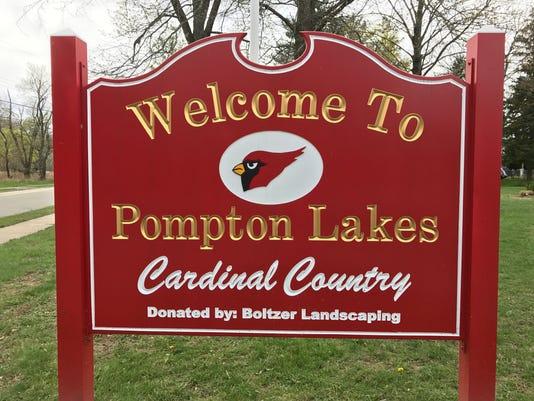 Pompton Lakes sign