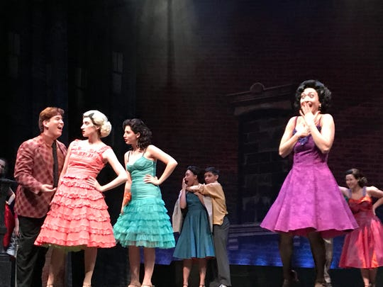 """Dress rehearsal for the Mayp Performing Arts Center Performing Arts School production of """"West Side Story."""" May 31, 2017."""