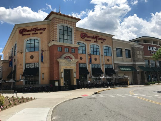 The former Cheesecake Factory space at the mall will