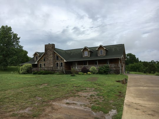 The foreclosed home on Nonaville Road in Mt. Juliet