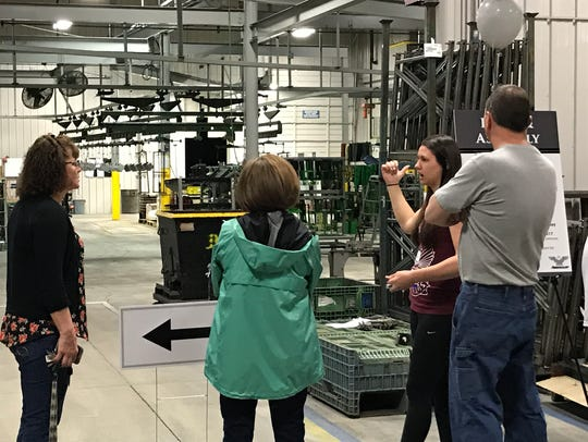 Amerequip held an open house Saturday to celebrate