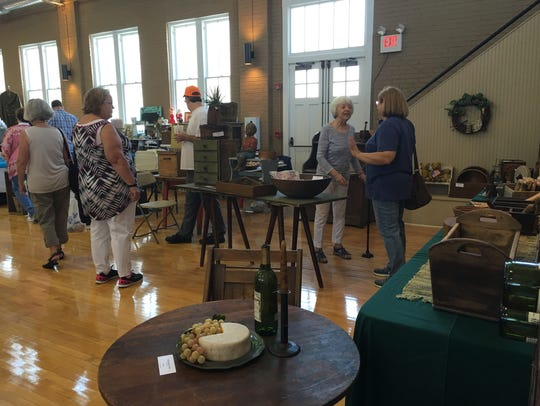 The Golden Raintree Antique Show and Sale brings vendors