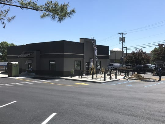 Starbucks is under construction on Route 34 in Aberdeen.