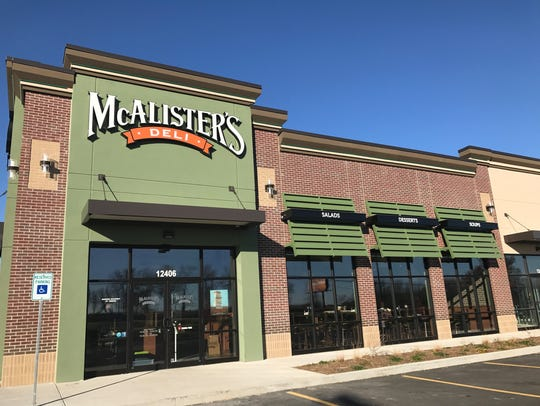 McAlister's Deli has opened its second metro area location. The newest store is in a strip mall on Douglas Avenue across from Merle Hay Mall.