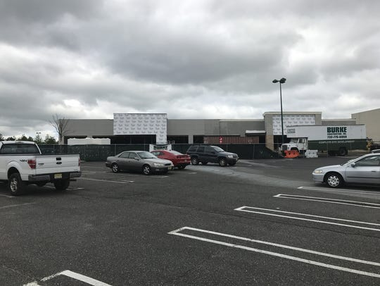 Three stores are under construction at Seaview Square