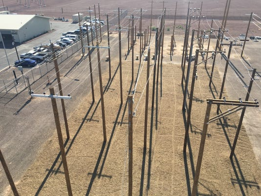 APS linemen training site